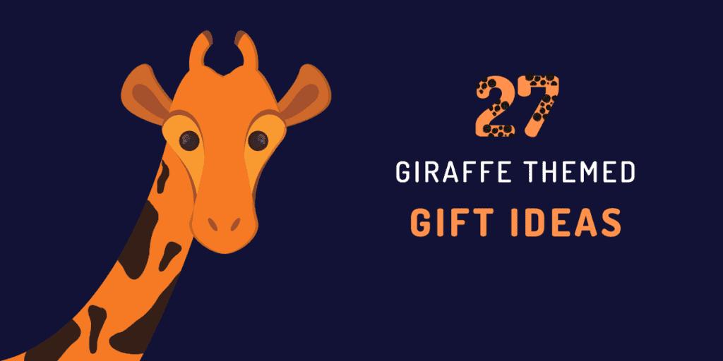 giraffe gift ideas