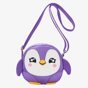 kids penguin purse
