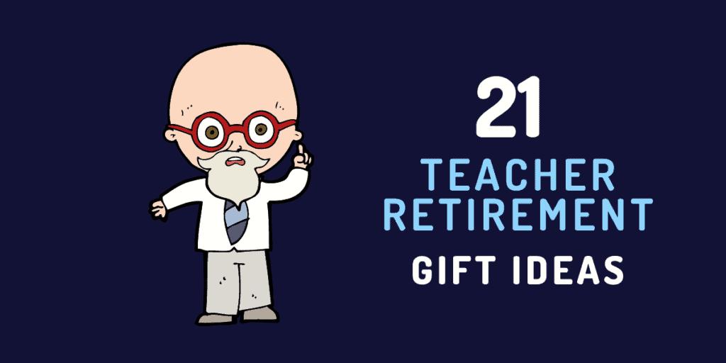 teacher retirement gift ideas