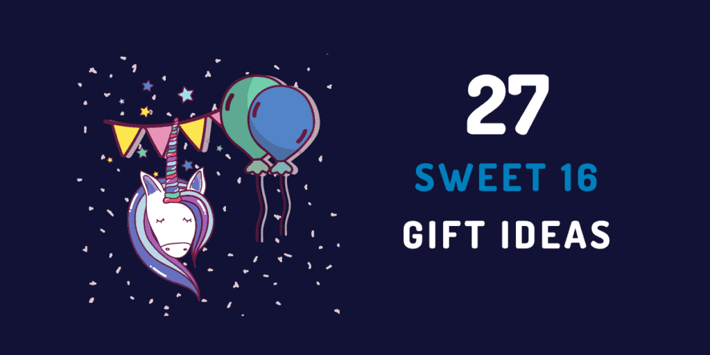 sweet 16 gift ideas