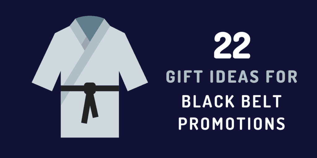 gift ideas for black belt promotion
