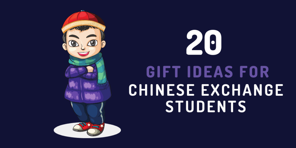 gift ideas for chinese exchange student