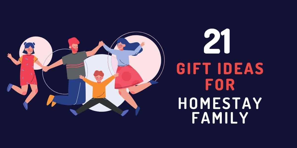 gift ideas for homestay family