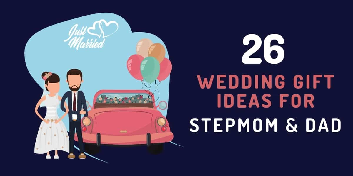 wedding gift ideas for step mom and dad